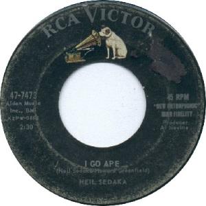 1959: U.S. Charts Hot 100 #42 U.K. #9