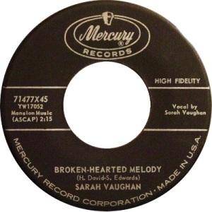 1959: U.S. Charts Hot 100 #7 R&B #5 U.K. #7