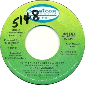 1977: U.S. Charts Bubbling Under #109