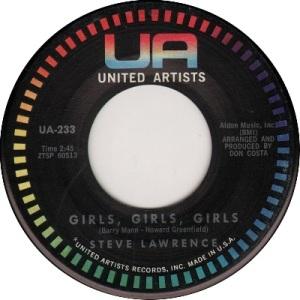1960: U.S. Charts Hot 100 #7 UK #39