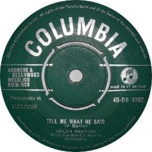 1962: UK Charts #2