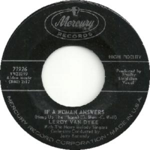 1962: U.S. Charts Hot 100 #35 C&W #3