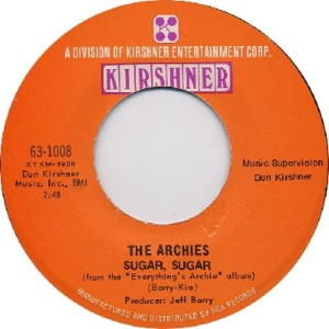 1969: U.S. Charts Hot 100 #1 - UK #1