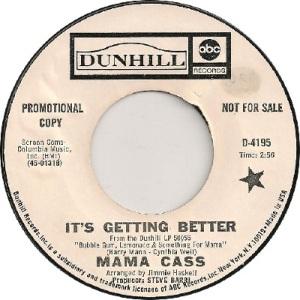 1969: U.S. Charts Hot 100 #30 U.K. #8