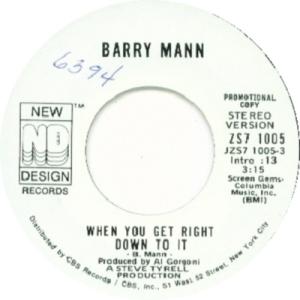 1972: U.S. Charts Bubbling Under #105