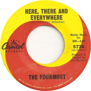 Fourmost - Capital 5738 - Here There Everywhere