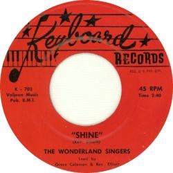 Keyboard 703 - The Wonderland Singers - Shine