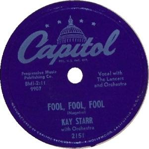 1952 - AUG - starr - fool #13