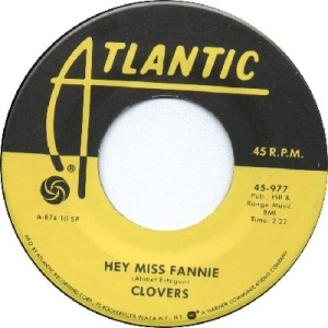 1952 - NOV - clovers - fannie - RB 2