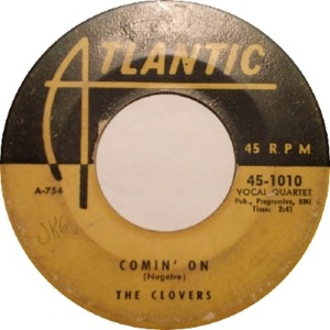 1953 - oct - clovers - comin on RB 9