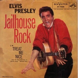 1957 - OCT - elvis - jailhouse - 1 rb 1 cw 1 uk 1