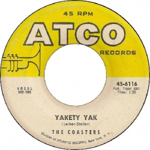 1958 - coasters - yakety - 1 rb 1 uk 12