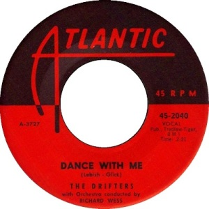 1959 - OCT - drifters - dance with - 15 rb 2 uk 17