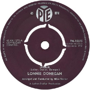1960 - AUG - donegan - lorelei - UK 10