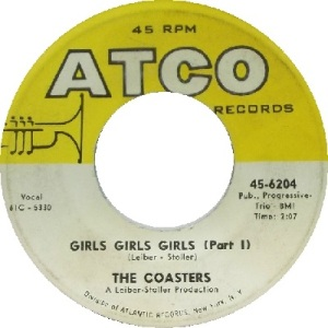 1961 - AUG - coasters - girls - 96