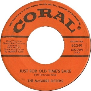 1961 - mcguire - old times - 20