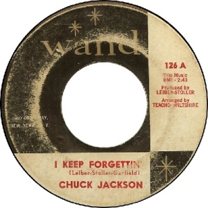 1962 - SEP - jackson, chuck - forgettin - 55