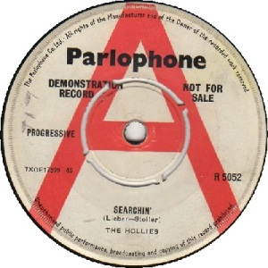 1963 - AUG - hollies - searchin - UK 12