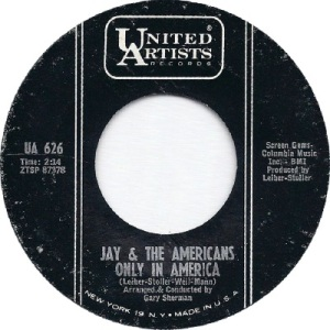 1963 - AUG - jay & americans - america - 25