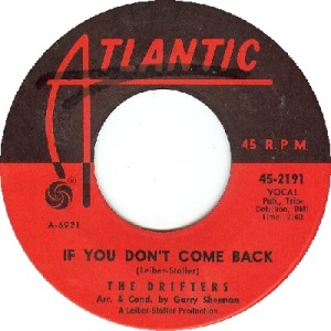1963 - JUL - drifters - come back - 73