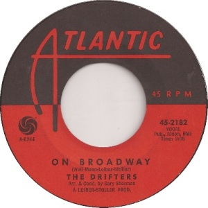 1963 - MAR - drifters - broadway - 9 rb 7