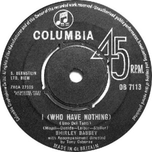 1963 - SEP - bassey - nothing - UK 6