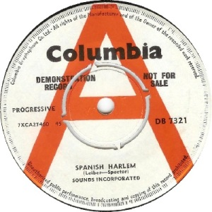 1964 - AUG - sounds inc - spanish - UK 35
