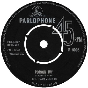 1964 - JAN - paramounts - poison - UK 35