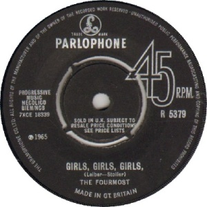 1965 - DEC - fourmost - girls - UK 33