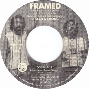 1978 - JUN - cheech chong - framed - #41