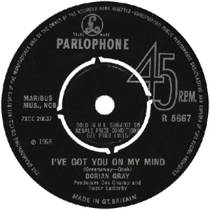 68 - Gray - mind - 1968 - UK 36
