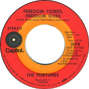 71 - Fortunes - Freedom - 1971 - 72 - 6
