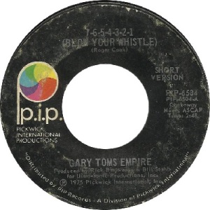 75 - Gary Toms - Blow - 1975 - 46 RB 5