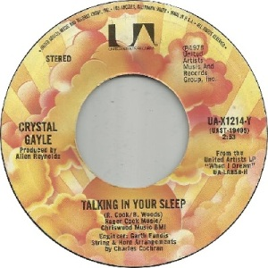 78 - Gayle, C - sleep - 1978 - 18 CW 1 UK 11