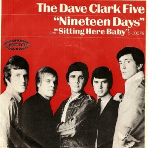Clark Five, Dave - Epic 10076 - Nineteen Days - PS