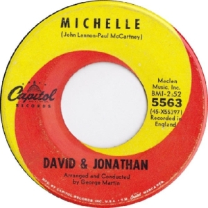 David & Jonathan - Capitol 5625 - Michelle