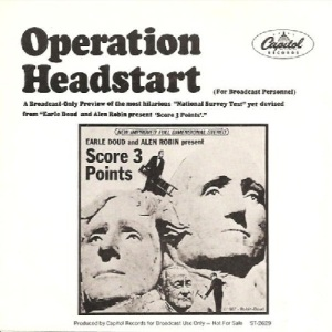 Doud, Earl & Robin, Alan - Capitol 2629 - Operation Headstart