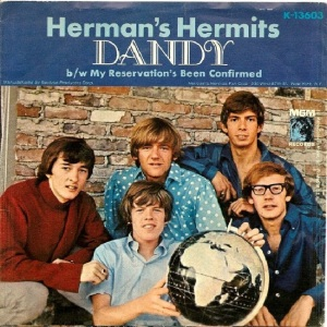 Herman's Hermits - MGM 13603 - Dandy - PS