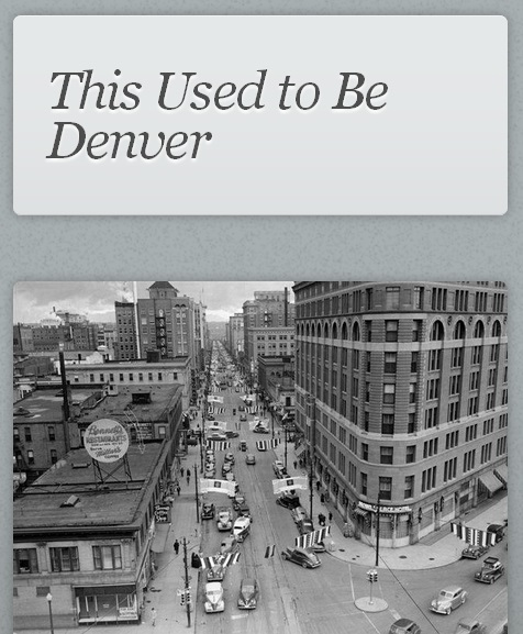 USED TO BE DENVER