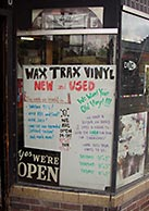 Denver's Famed Wax Trax