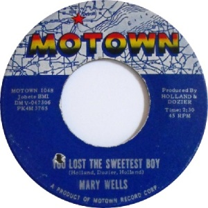 1963 - Wells - sweetest boy - 22 #10 rb