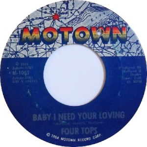 1964 - Four Tops - baby I - 11 rb 4