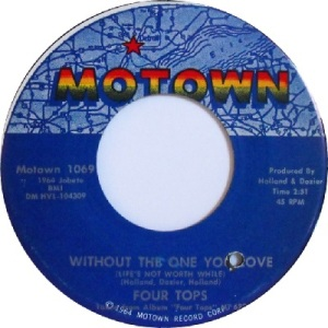 1964 - Four Tops - without the one - 43 rb 17