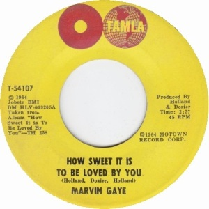 1964 - Gaye - how sweet - 6 RB 3 UK 49