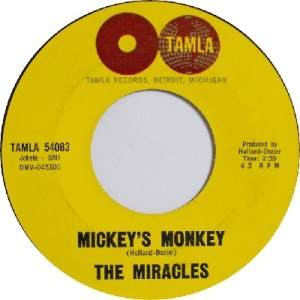 1964 - Miracles - monkey - 8 #3 rb