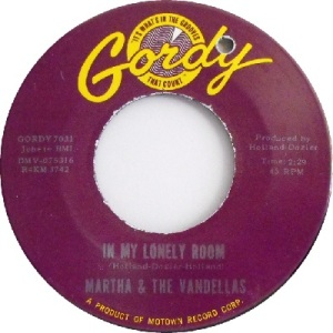 1964 - Vandellas - lonely room - #44 RB 6