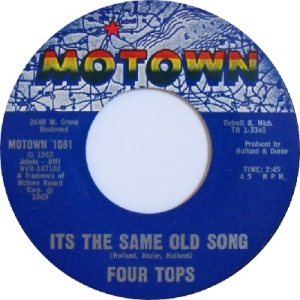 1965 - Four Tops - same old - 5 rb 2 uk 34