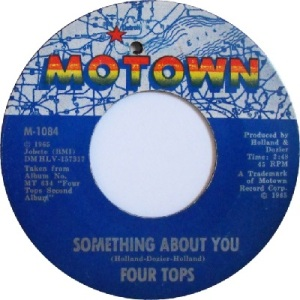 1965 - Four Tops - something about - 19 rb 9