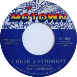 1965 - Supremes - symphony - 1 rb 2 uk 39