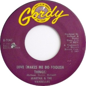 1965 - Vandellas - Love makes - 70 RB 22